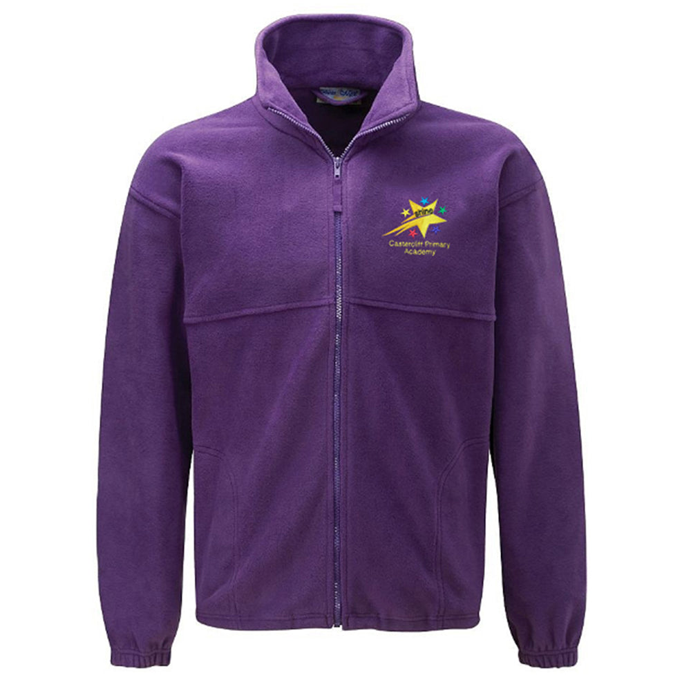 Castercliff Primary Fleece Jacket With Logo