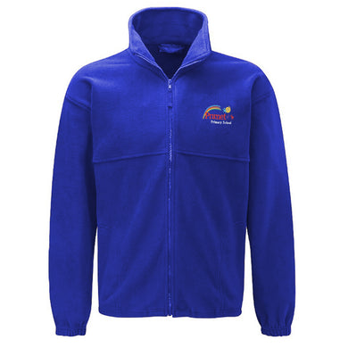 Primet Primary Fleece Jacket With Logo
