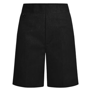 Boys Traditional Black Everyday School Shorts