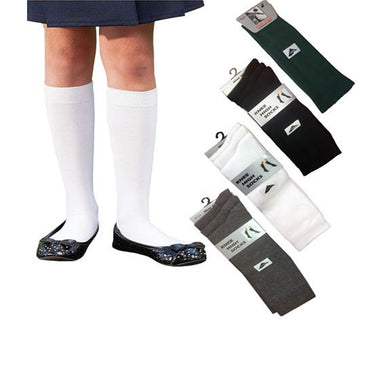 3 Pairs Girls Knee High Socks