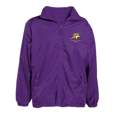 Castercliff Primary Academy RC Reversible Raincoat + Logo
