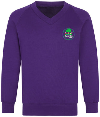 Walverden Primary Raglan Year 6 V-Neck Sweatshirt