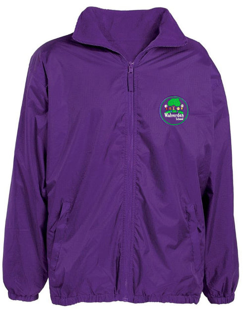 Walverden Primary Reversible Raincoat + Logo