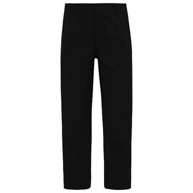 Black Slim Fit Trouser 2 Back Pockets 2 Front Pockets