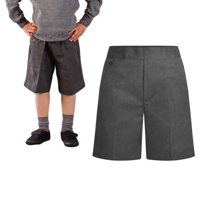 Boys Traditional Grey Everyday School Shorts