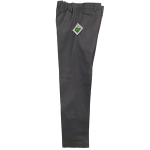 Premium Grey Trousers Half Elasticated