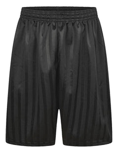 Shadow Stripe P.E Football Shorts Black