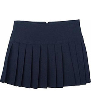 Higam St Navy Britney Pleated Skirt