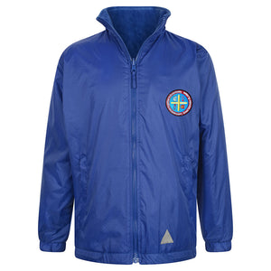 Saint John's Reversible Raincoat With Logo