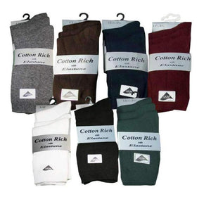 3 Pairs Boys & Girls Short Ankle School Socks Cotton Rich