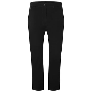 Girls Black Sturdy Fit Trouser Half Elasticated