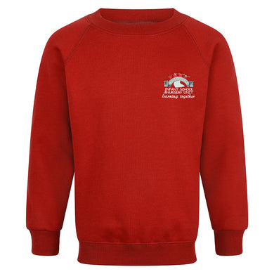 Whitefield Primary Raglan Sweatshirt With Logo