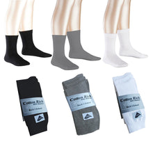 3 Pairs Boys & Girls Short Ankle School Socks Cotton Rich Black, Grey & White