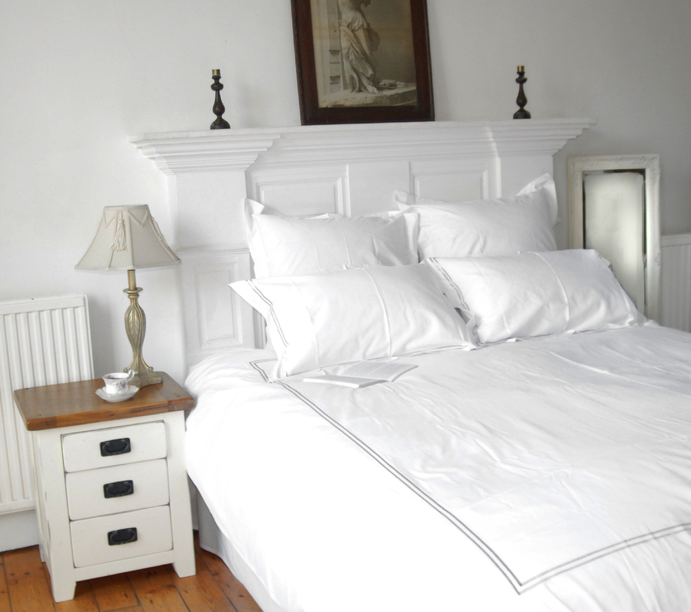 Luxury hotel and boutique organic bedding