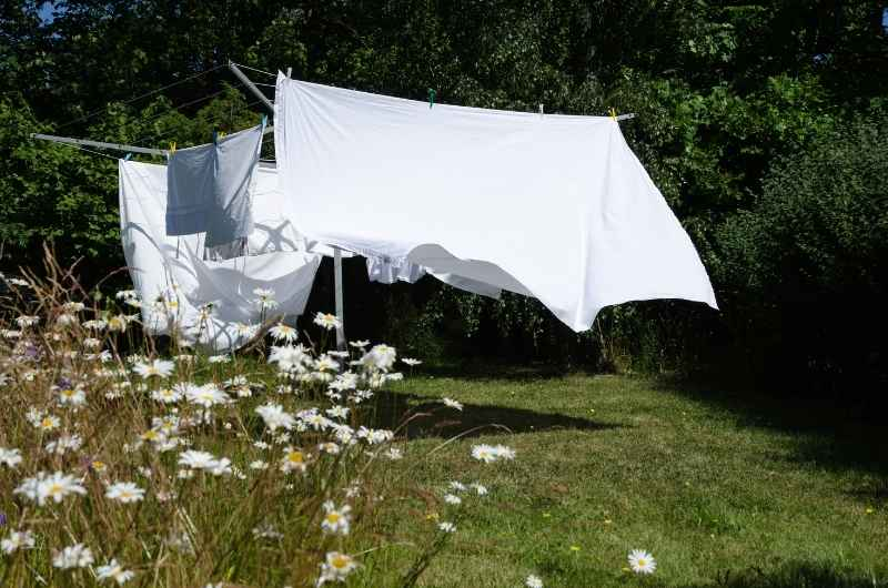 Drying your cotton bedding
