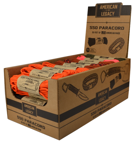 American Legacy™ 550 Paracord Multi-Pack Promo!!