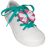 ShoeFly™ Funsets™ | Bow | Turq Lace