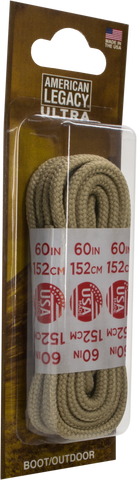 American Legacy Heavy-Duty Laces | Paracord Laces [ Sand Classic Hike ]