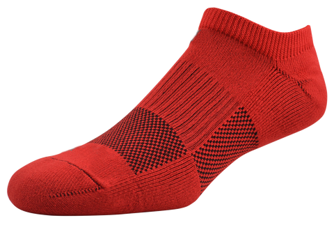 2ndWind -Recovery- Titanium Infused Socks [ 2Pack ] - Low Red