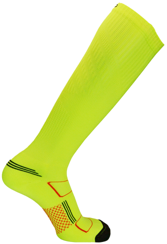 Second Wind Compression Socks - Safety Yellow