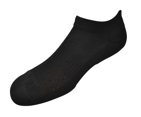 2ndWind -Recovery- Titanium Infused Socks [ 2Pack ] - Low Black