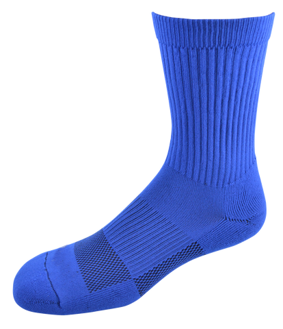 2ndWind -Recovery- Titanium Infused Socks [ 2Pack ] - High Crew Royal Blue