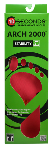 10 Seconds Classics Arch 2000™ Performance Insoles
