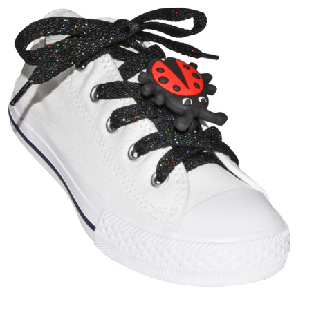 ShoeFly™ Funsets™ | LadyBugs | Black & Red