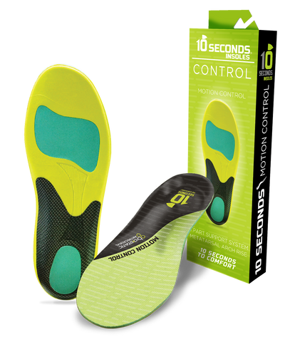 10 Seconds Motion Control Performance Insoles
