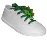 ShoeFly™ Funsets™ | Stegosaurus Dino | Green Laces