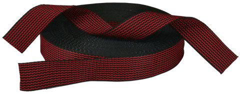 Spun™ Nylon Striped Webbing