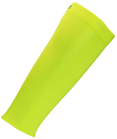 Second Wind Compression Sleeves - Safety Yellow