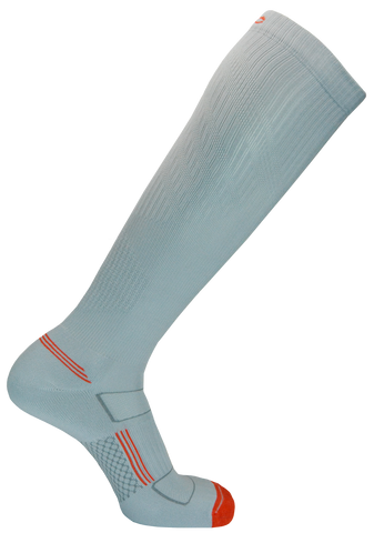 Second Wind Compression Socks - Lunar Rock Grey