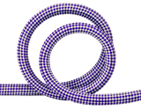 Spun™ Small Check Pattern Rope -Round Lead