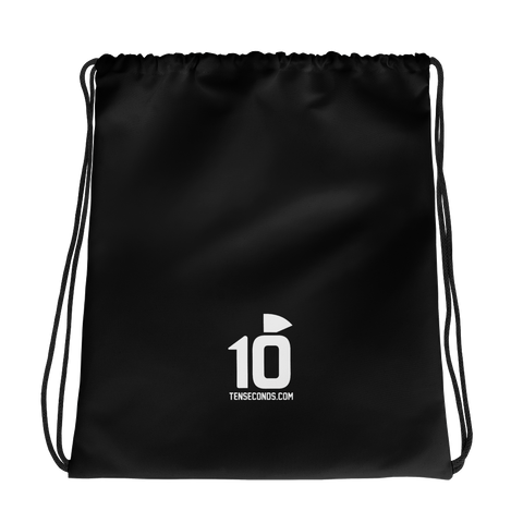 10 seconds Drawstring bag