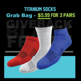 2ndwind Black Friday - Cyber Monday | Titanium Infused Sock Grab Bag