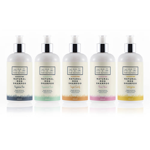 5 x 200ml Paw Naturel Shampoos - Paw Naturel