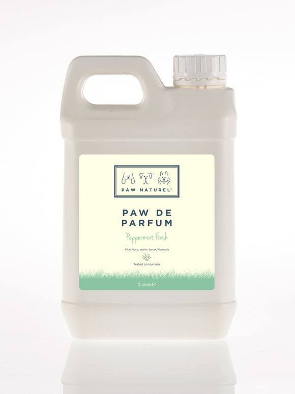 Paw Naturel Paw De Parfum Peppermint 2 Litre Natural Dog Fragrance