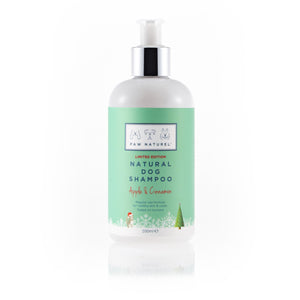 Paw Naturel Christmas Apple & Cinnamon Natural Dog Shampoo 200ml *limited edition* - Paw Naturel