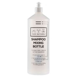 Paw Naturel Shampoo Mixing Bottle