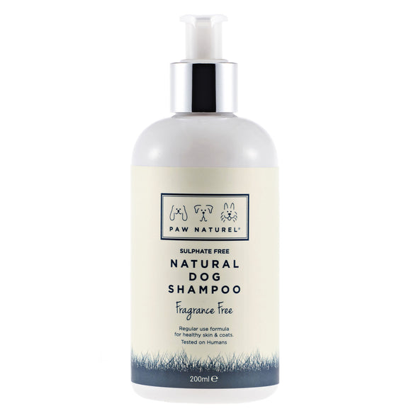 Original Fragrance Free Dog Shampoo 200ml