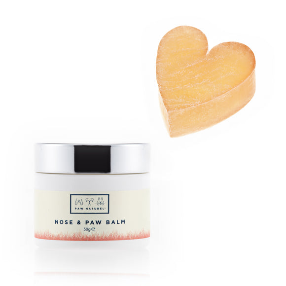 Rub & Scrub Heart shaped scrub + Paw & Nose Balm Combo - Paw Naturel