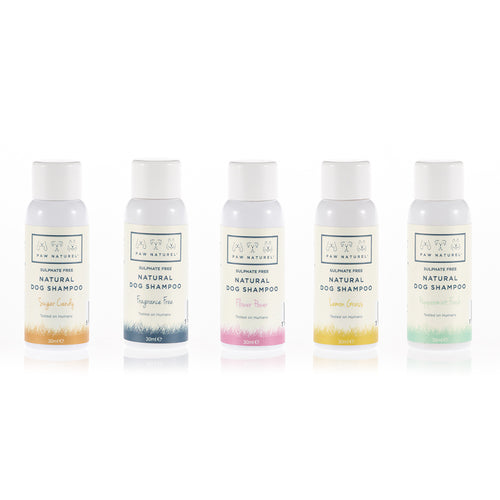 Paw Naturel Mini Trial Pack of 5 Shampoo samples - Paw Naturel