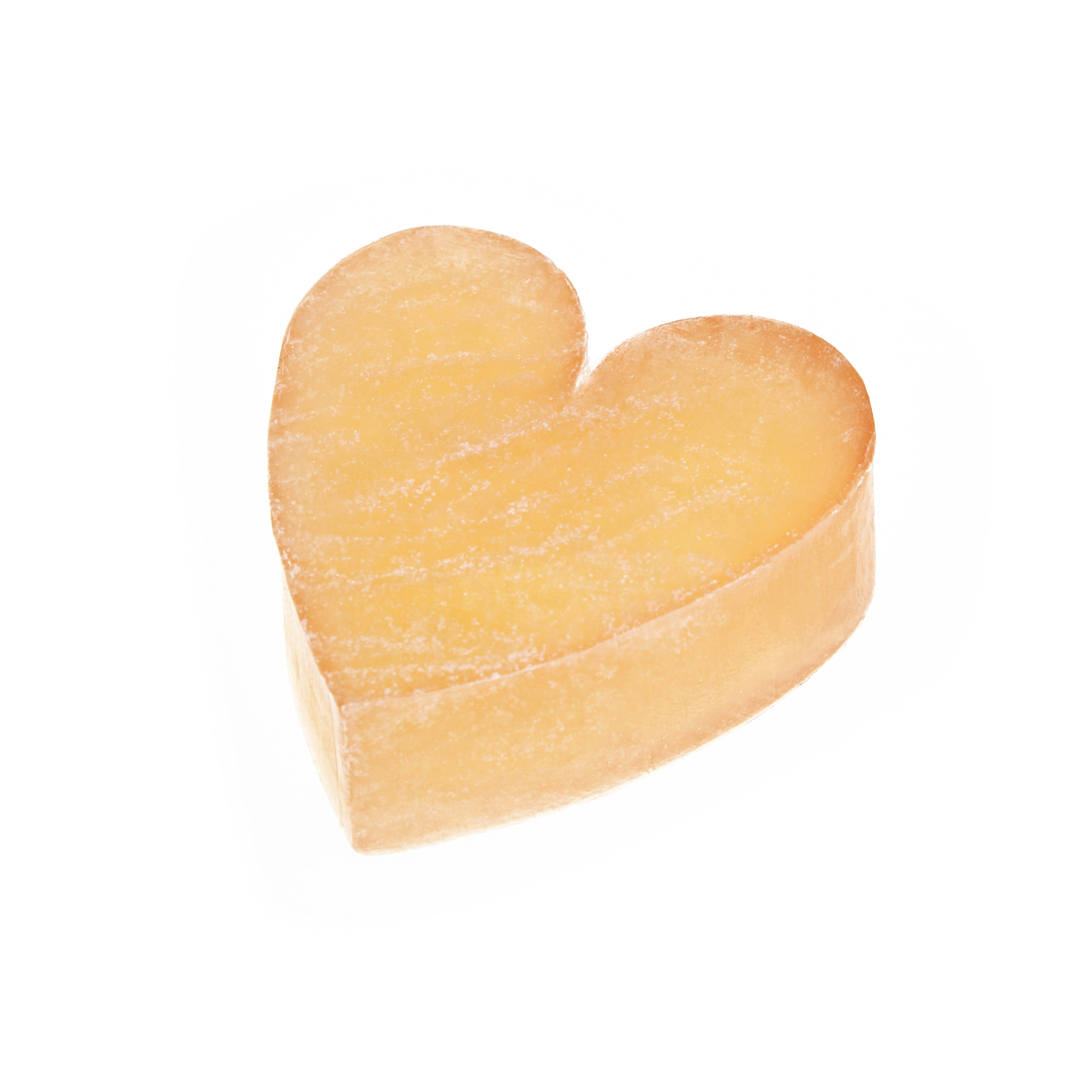 Paw Naturel Rub & Scrub Cleansing Heart shaped Bar with real sugar - Paw Naturel