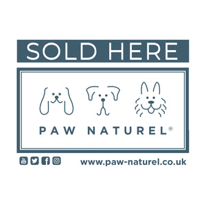 Paw Naturel Stockist SOLD HERE Sticker