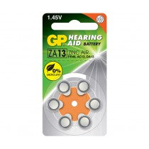 Patarei GP Hearing Aid battery ZA13