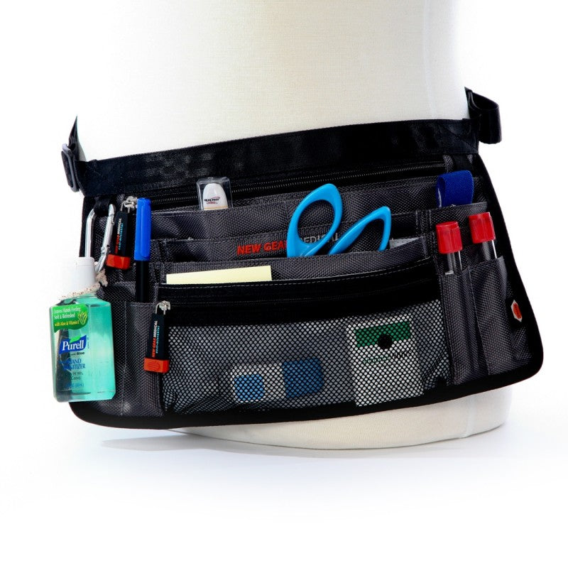 The Trustee- Anti-Microbial Medical Supply Organizer Belt Bag-Grey