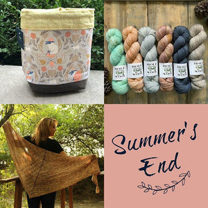 Summer's End Kit - Two Skeins