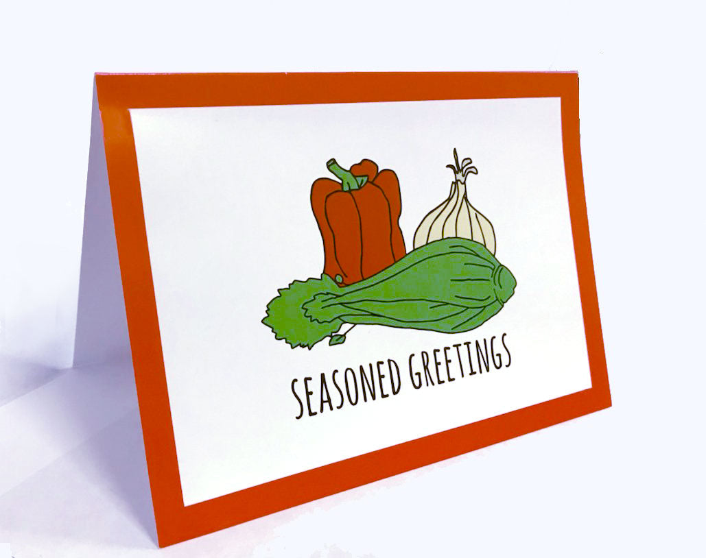 10 Pack | The Trinity Seasoned Greetings Cards
