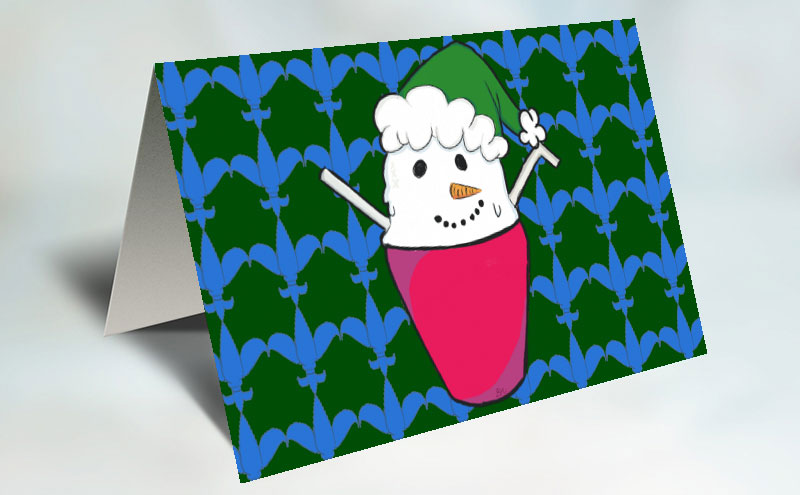 10 pack | Snowball Holiday Cards